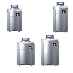 automatic media preparation system / sterilization / floor-standing