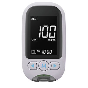 uric acid blood glucose meter / with blood ketone meter / cholesterol / for home use