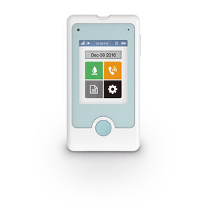 GDH-FAD blood glucose meter / wireless / touch screen