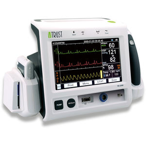 temperature vital signs monitor / ECG / NIBP / blood glucose
