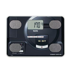 fat mass measurement body composition analyzer / with LCD display / compact / with BMI calculation