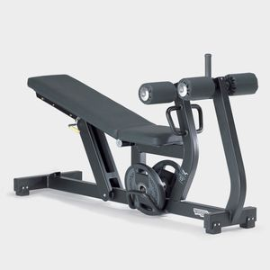 abdominal crunch weight training bench