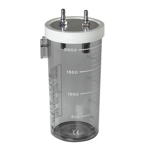 medical suction pump jar / polycarbonate / polysulfonate