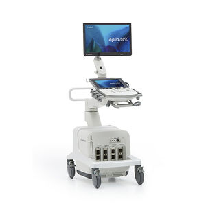 on-platform ultrasound system / for multipurpose ultrasound imaging / B/W / color doppler