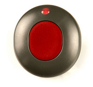 hand-held alert system / panic button / with geolocalization