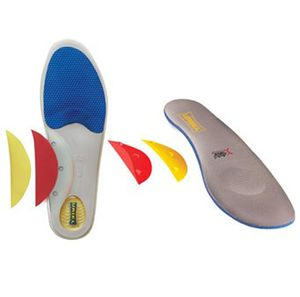 orthopedic insole with longitudinal arch pad