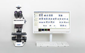 automatic cell imaging system / for karyotyping / laboratory / for DNA