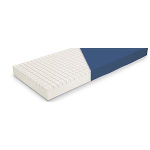 hospital bed mattress / 90x200 cm / foam / anti-decubitus