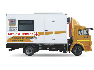 chest radiography mobile radiology room
