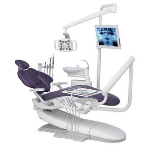 dental treatment unit with hydraulic chair