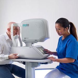 micro ophthalmic perimeter