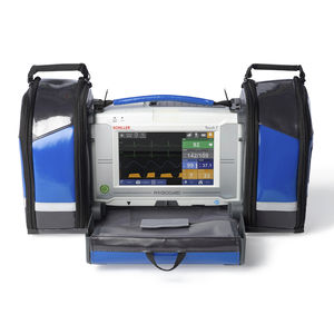 multi-parameter ECG monitor / temperature / EtCO2 / NIBP