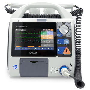 semi-automatic external defibrillator / manual / wireless / with multi-parameter monitor