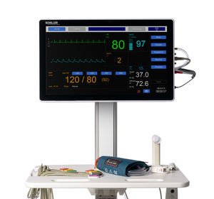 12-lead ECG multi-parameter monitor