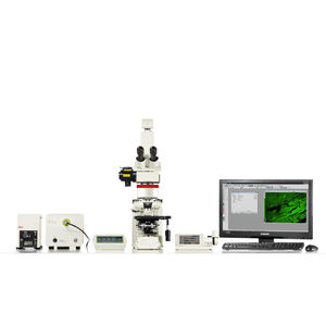fluorescence microscope / laboratory / for life sciences applications / for biology