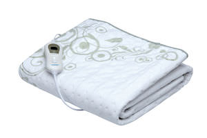 electric blanket / polyester / programmable / washable