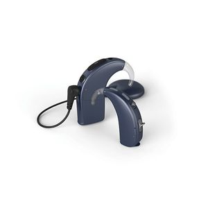behind-the-ear processor cochlear implant