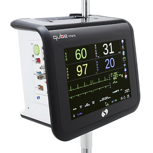 respiratory rate patient monitor / ECG / RESP / TEMP