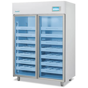 pharmacy refrigerator / cabinet / with automatic defrost / stainless steel