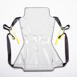 patient lift sling-seat / toilet / with head support