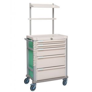 anesthesia cart / medication / with drawer / for humans