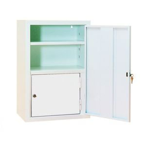 chemical product cabinet / hospital / with shelf / with door