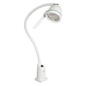 LED examination lamp / floor-standing / flexible