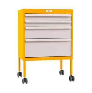 isolation trolley / multi-function / with drawer / medical