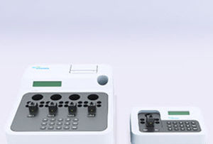 semi-automatic coagulation analyzer / 4-channel / compact