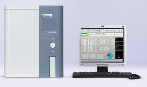 24-parameter hematology analyzer / with leukocyte distribution / for humans / fluorescence flow cytometry