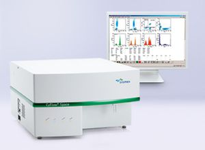 automatic cytometer / compact / digital / fluorescence