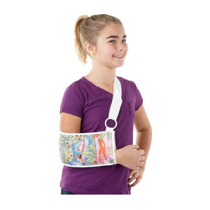 pediatric arm sling / with forearm sleeve