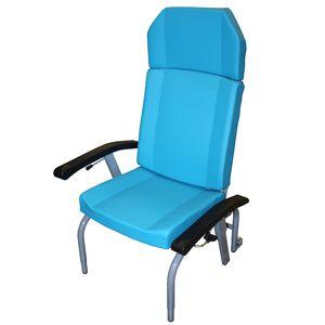 height-adjustable patient chair