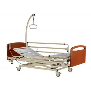 medical bed / nursing home / electric / height-adjustable