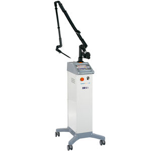 gynecological surgery laser / ENT surgery / CO2 / trolley-mounted