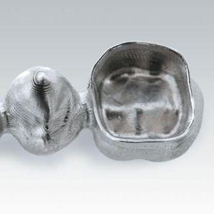 titanium dental material / CAD/CAM / for dental crowns / for dental bridges