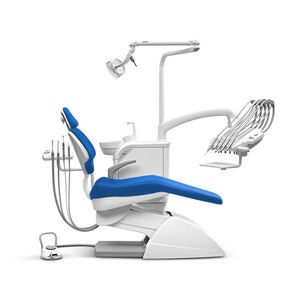 dental unit with electropneumatic chair