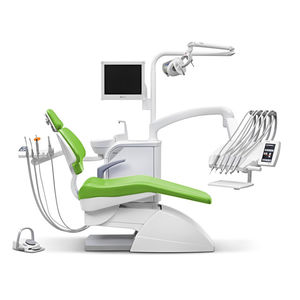 dental treatment unit with electric chair / with light / with monitor / ambidextrous