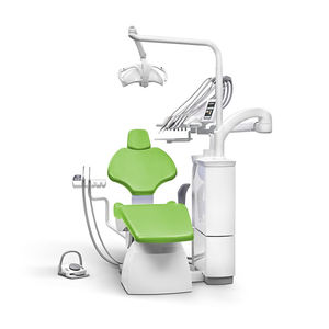 dental treatment unit with electric chair / with light / compact / ambidextrous