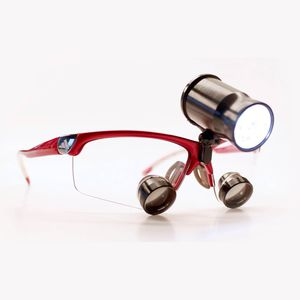 binocular loupe head-light