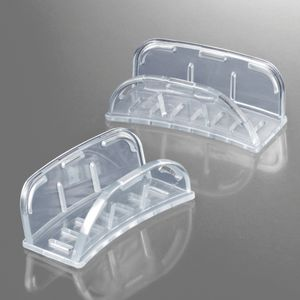 partial denture dental impression tray / perforated / disposable