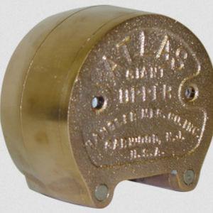 polymerization dental flask / bronze