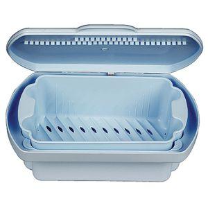 dental instrument sterilization tray / perforated