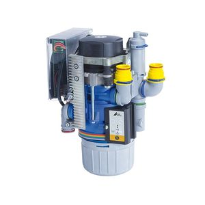 air-water vacuum pump separator / dental / with amalgam separator
