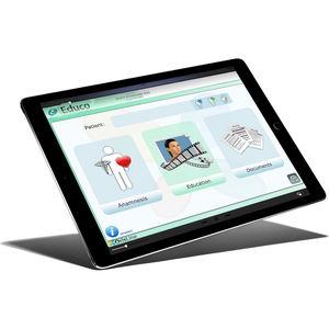 iOS training application / dental / for tablet PC