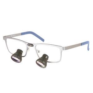 binocular loupe with frames / with headlamp