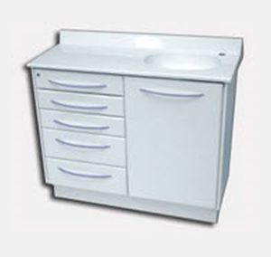 storage cabinet / for dental instruments / for dental clinics / with drawer