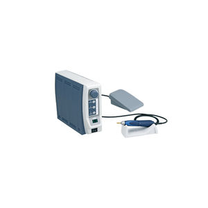dental laboratory micromotor control unit / electric / foot-operated / benchtop