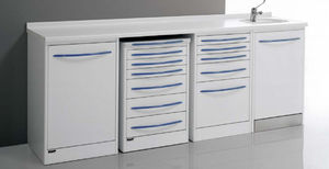 Storage Cabinet For Dental Instruments Clinics With Sink