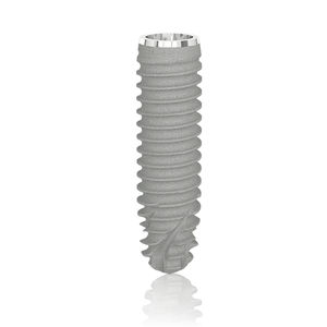 cylindro-conical dental implant / titanium / internal / tapered